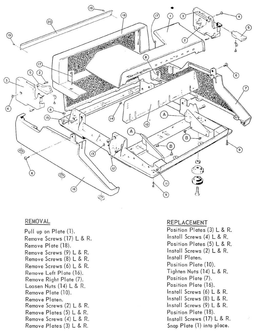 Remington Standard Typewriter Repair