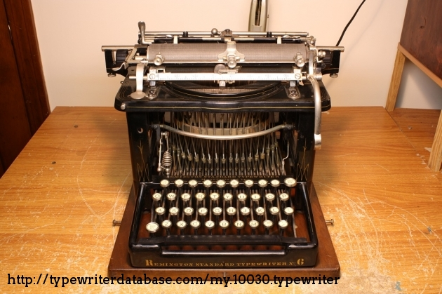 A primordial typewriter design - one of the many killed off by Underwood.