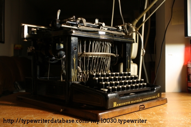 Glamour shot. It was on the market for but a year before Underwood's machine made it obsolete overnight.
