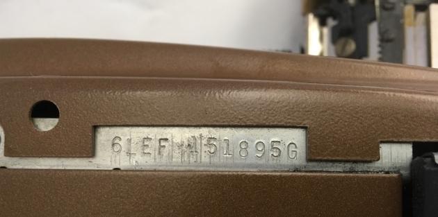 Coronet Super 12 Coronamatic location of serial #...