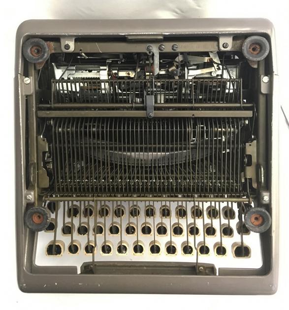"""Royal """"Futura 800"""" from the bottom..."""