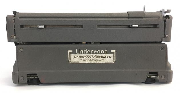 Underwood Finger-Flite Champion from the back...