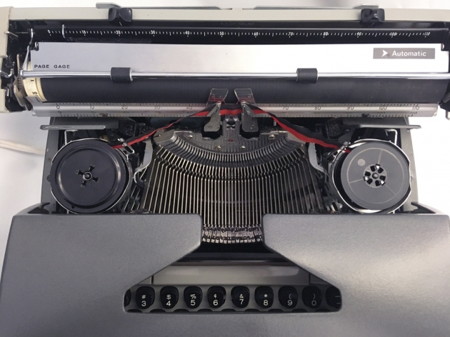 """Smith Corona """"Electra 220 Automatic"""" from under the hood..."""