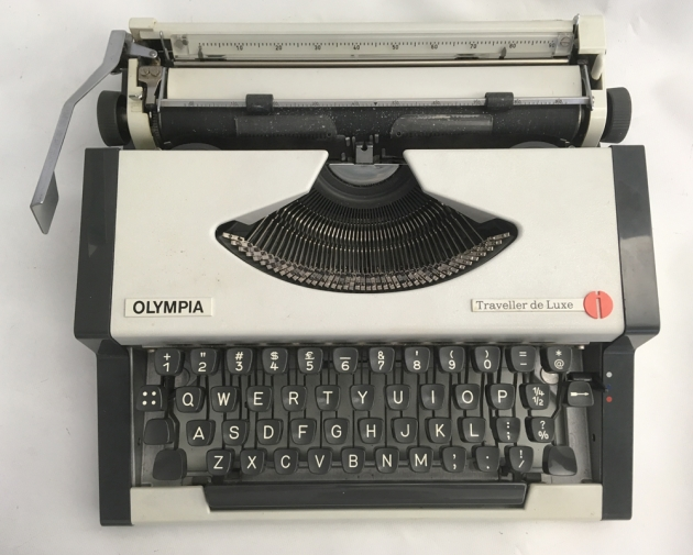 """Olympia """"Traveller de Luxe"""" from the top..."""