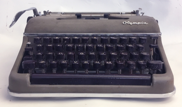 Olympia SM3 from the front...