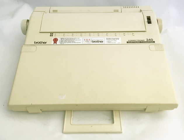 """Brother """"Correctronic 340"""" case..."""