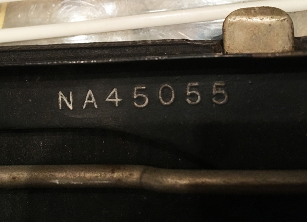 Remington Portable serial number location...