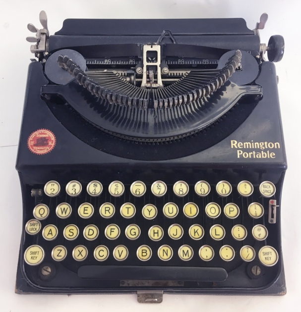 """Remington """"Portable """" from the top..."""