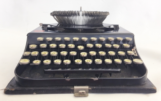 """Remington """"Portable """" from the front..."""