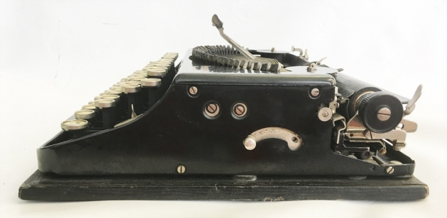 """Remington """"Portable """" from the right side..."""