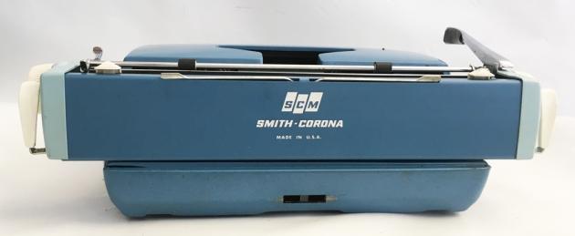 "Smith-Corona ""Galaxie Twelve"" from the back..."