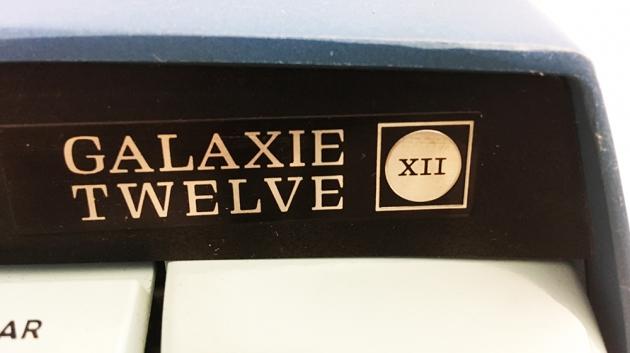 "Smith-Corona ""Galaxie Twelve"" detail..."