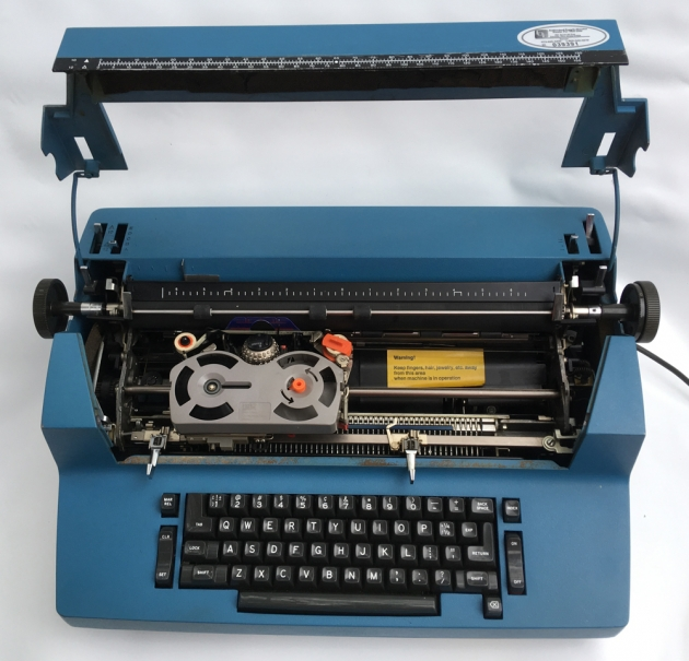 IBM Selectric ll from under the hood ...