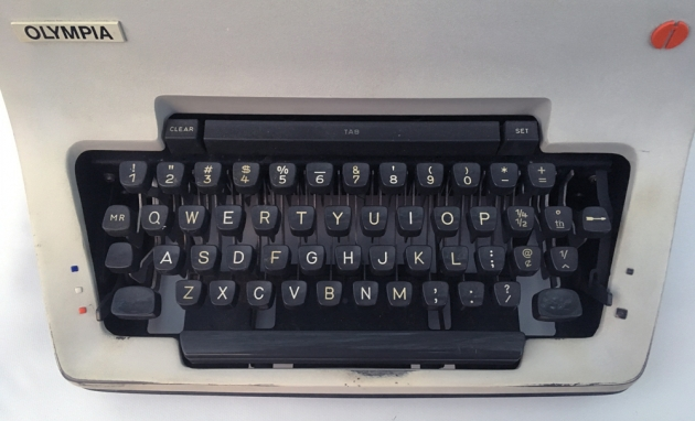 """Olympia """"SG3"""" from the keyboard..."""