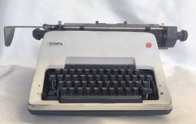 """Olympia """"SG3"""" serial number location (on the base) ..."""