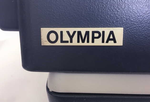 """Olympia """"SG3"""" from the back, detail ..."""