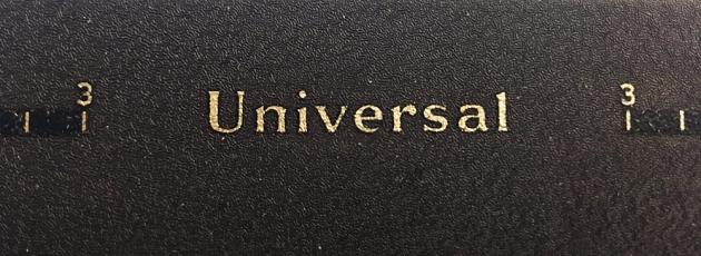 "Underwood ""Universal"" logo..."