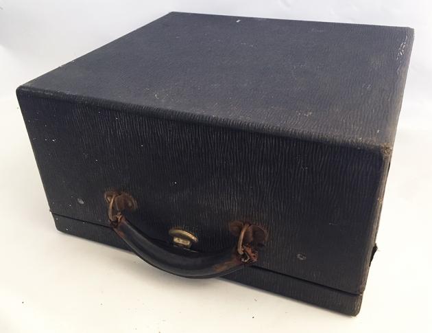 """Underwood """"Universal"""" storage case..."""