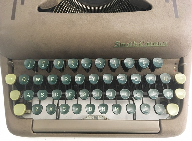 "Smith-Corona ""Silent"" from the keyboard..."