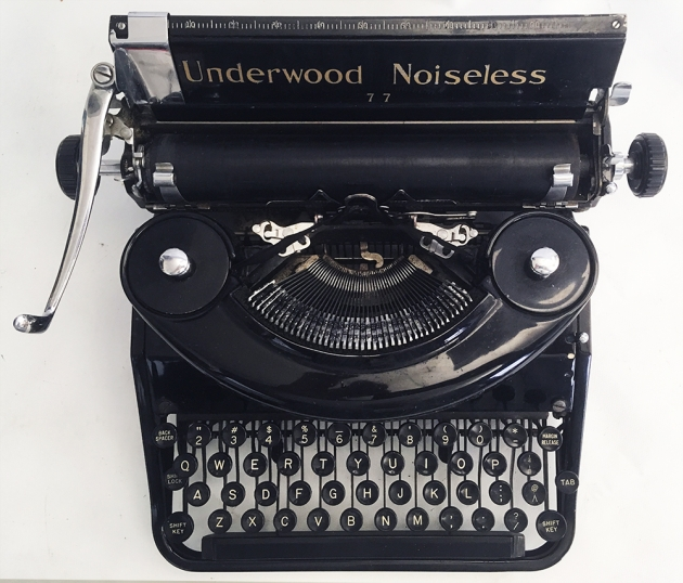 Underwood Noiseless from the top...