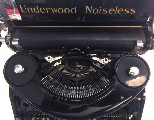 Underwood Noiseless from under the hood...