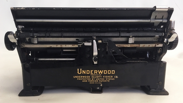 Underwood Noiseless from the back...