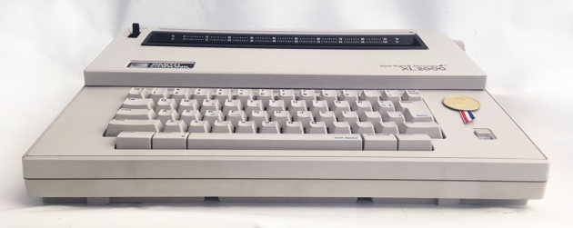 """Smith-Corona """"XL 2000"""" from the front..."""
