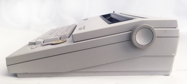 """Smith-Corona """"XL 2000"""" from the right side..."""
