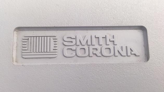 """Smith-Corona """"XL 2000"""" Logo from the case/cover..."""