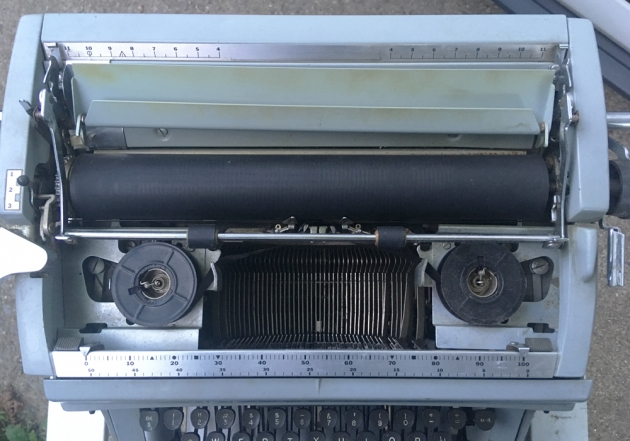 """Underwood """"touch-master 5"""" from under the hood..."""