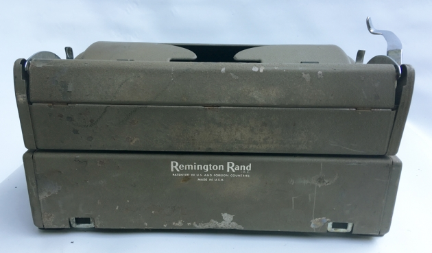 "Remington ""All New"" from the back..."