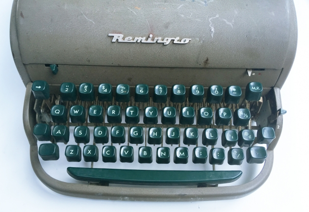 "Remington ""All New"" from the keyboard..."