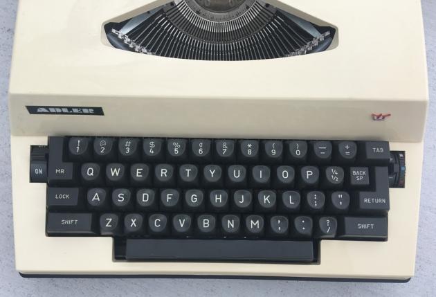 "Adler ""Gabriele 2000"" from the keyboard..."