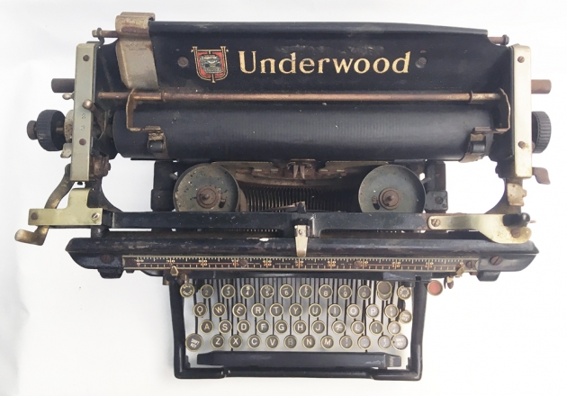 Underwood #3 from the top...