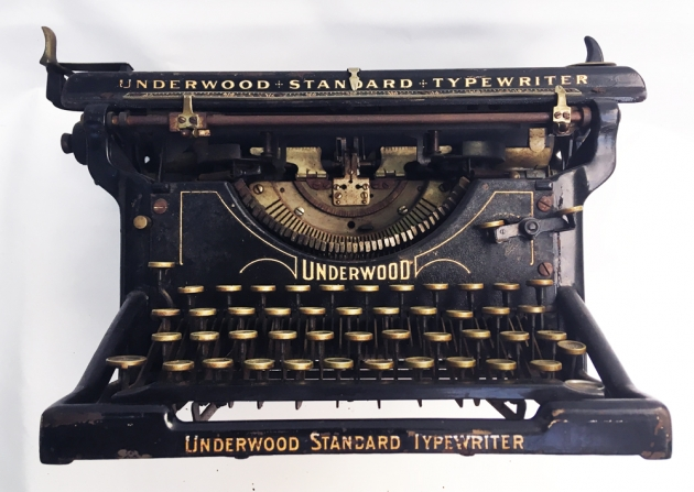 Underwood #3 from the front, lower...