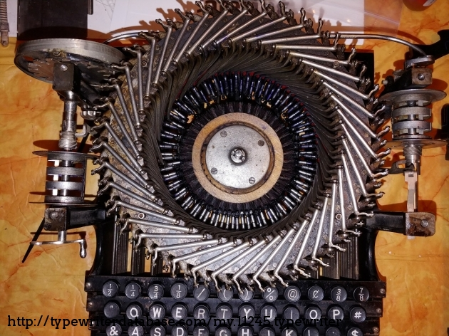 Type basket: during disassembly