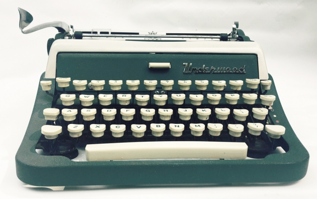 "Underwood ""Ace""  from the front..."