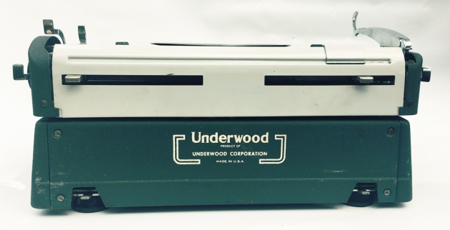 "Underwood ""Ace""  from the back..."