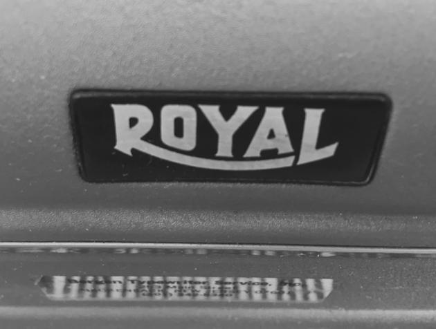 """Royal """"KMG"""" front logo..."""