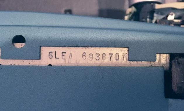 "Smith-Corona ""Coronet Super 12 Coronamatic"" serial number location..."