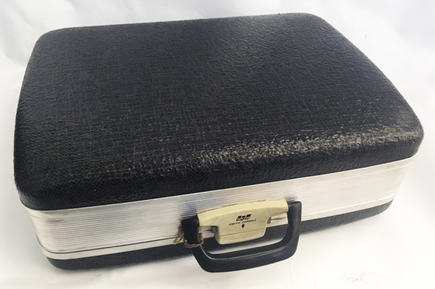 """Smith-Corona """"Electra 110"""" travel case... This may be the best quality case I ever seen."""