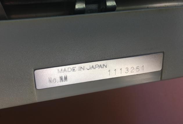 "Royal (Silver-Seiko) 'Sprite"" serial number location..."