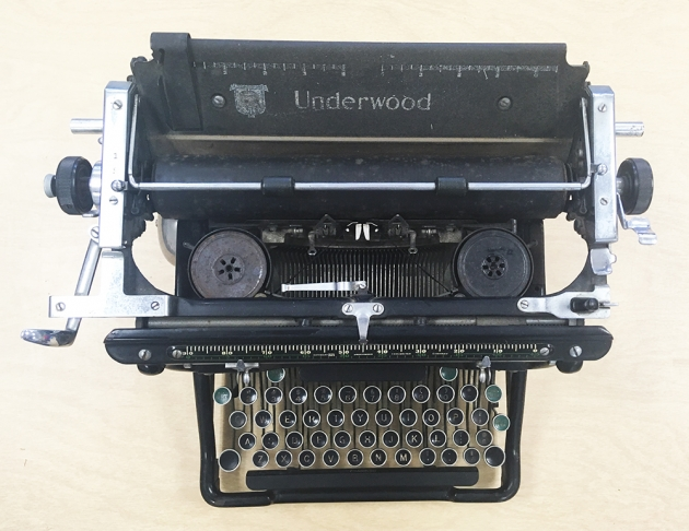 """Underwood """"6"""" from the top..."""