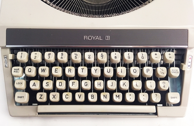 "Royal ""Mercury"" from the keyboard..."