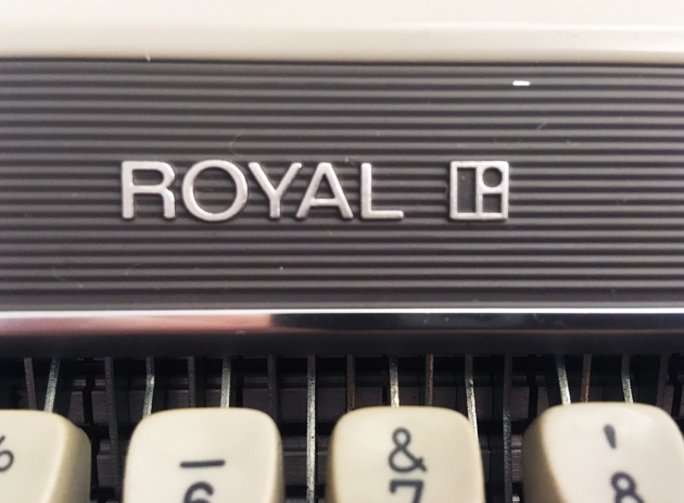 "Royal ""Mercury"" logo on the front..."