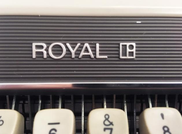 "Royal ""Mercury"" logo on the front..."