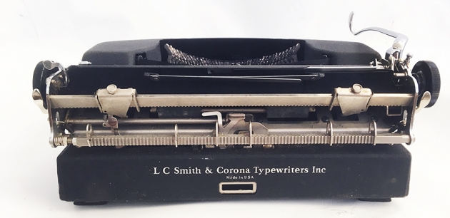 """Smith-Corona """"Sterling"""" from the back..."""