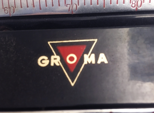 "Groma ""N""  from the keyboard..."