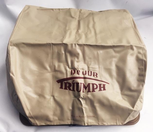 "Triumph ""Kwik-Riter"" dust cover..."
