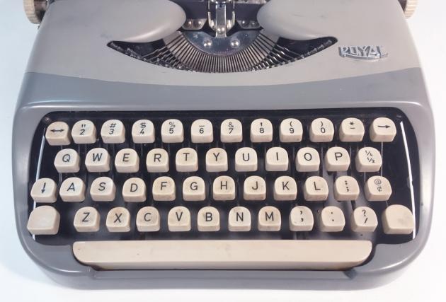 "Royal ""Royalite"" from the keyboard..."